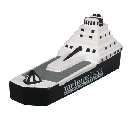 Promotional Container Ship Stress Ball