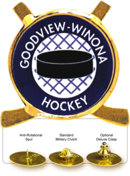 Hockey Lapel Pin