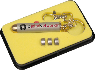 Promotional Laser Key Chain