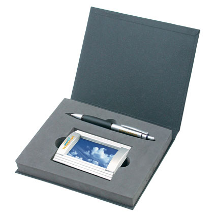 Promotional Frame and Ballpoint Pen Gift Set