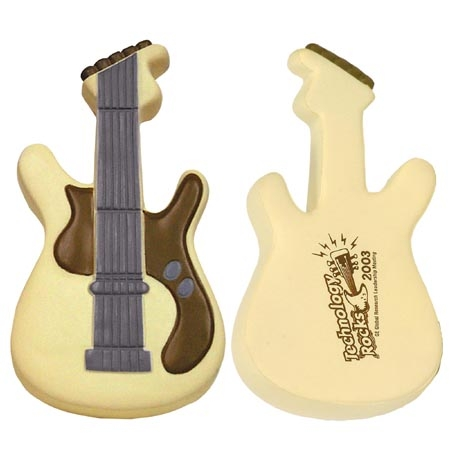 Promotional Guitar Stress Ball