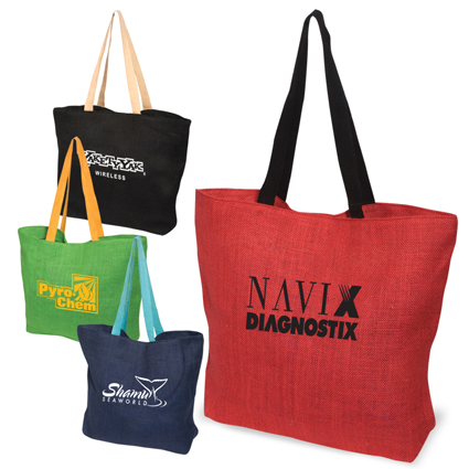 Promotional Eco-Green Jute Tote