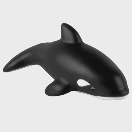Promotional Killer Whale Stress Ball