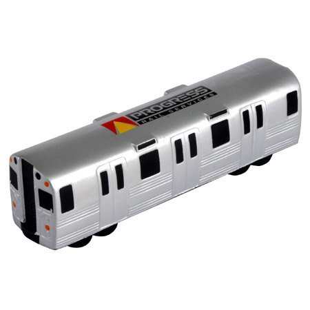 Promotional Metro Train Stress Ball
