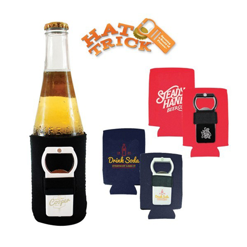Promotional Hat Trick® Can Cooler Kit