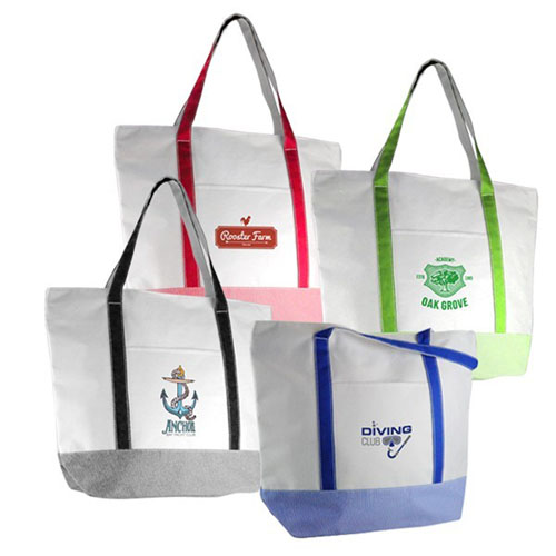 Promotional Ticking Tote