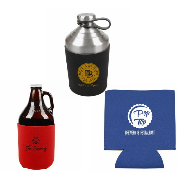 Promotional Growler Sleeve