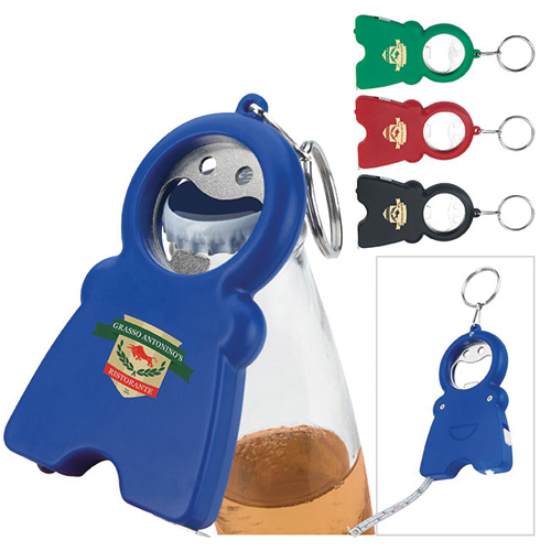 Promotional Happy tri-function Keychain