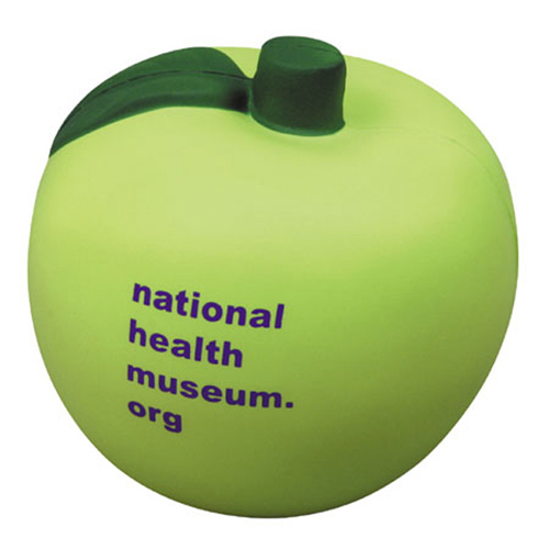 Promotional Green Apple Stress Ball