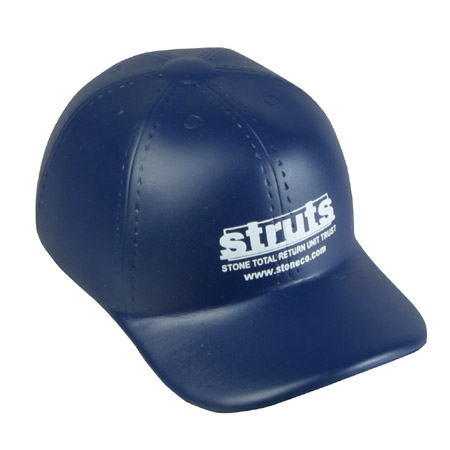 Promotional Baseball Cap Stress Ball