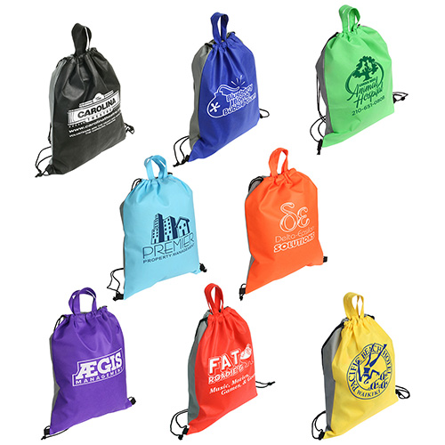 Promotional Glide Right Drawstring Backpack