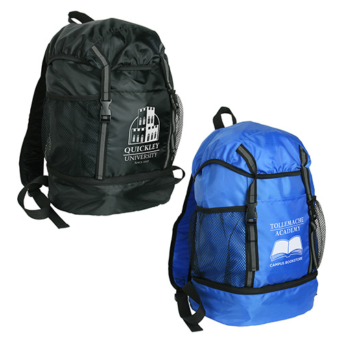 Promotional Trail Loop Drawstring Backpack