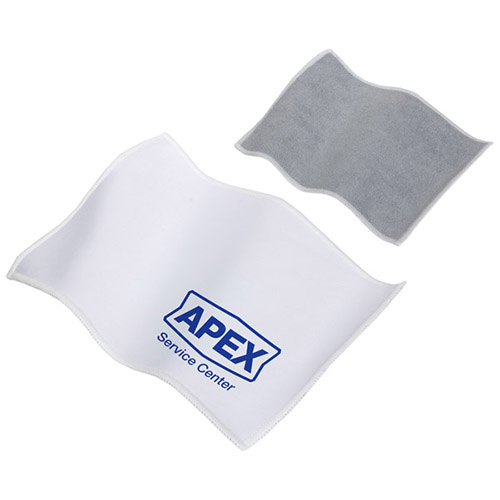 Promotional Quick Clean Dual Sided Microfiber Cloth