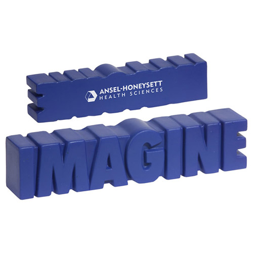 Promotional Imagine Word Stress Reliever