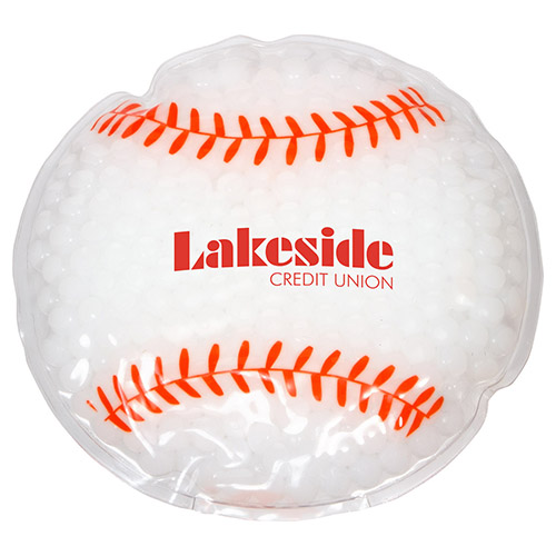 Promotional Baseball Hot/Cold Pack