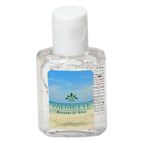 Promotional Moisture Bead Hand Sanitizer- 1/2 Oz