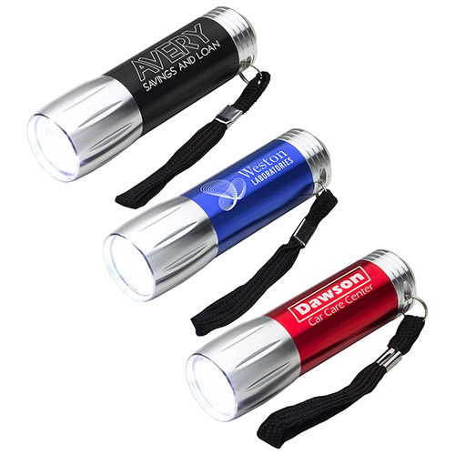 Promotional Compact Multi-Function LED Flashlight