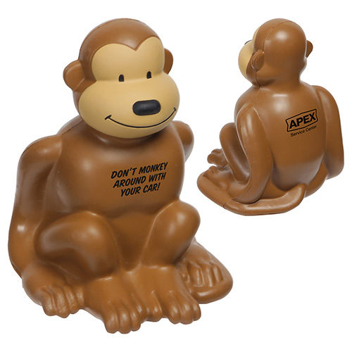 Promotional Monkey Stress Reliever