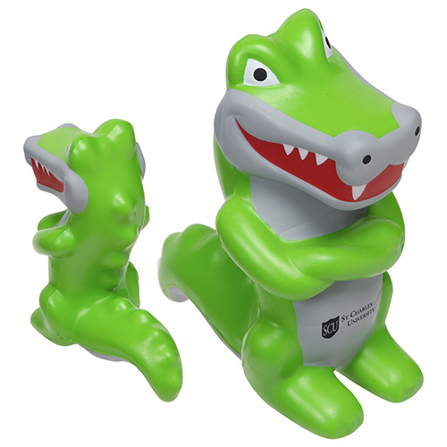 Promotional Crocodile Mascot Stress Reliever