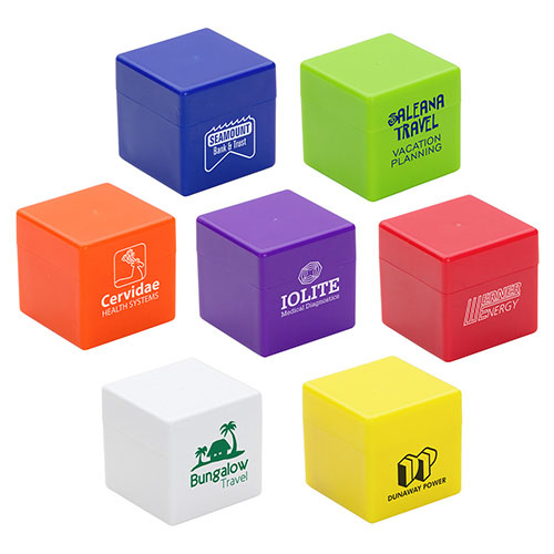 Promotional Cube-It Lip Balm