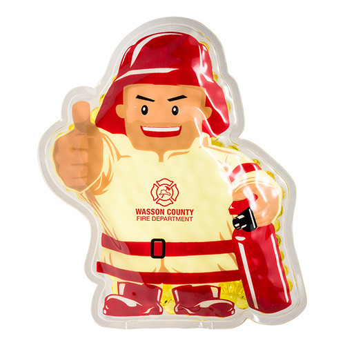 Promotional Firefighter Hot/Cold Pack