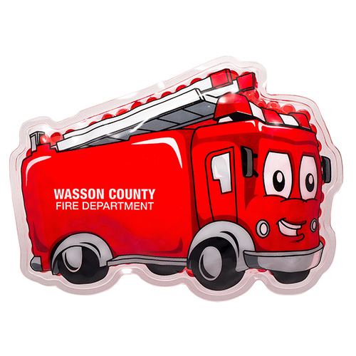 Promotional Fire Truck Hot/Cold Pack