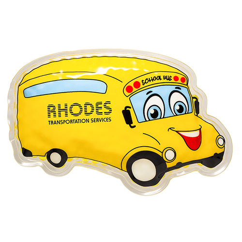 Promotional School Bus Hot/Cold Pack