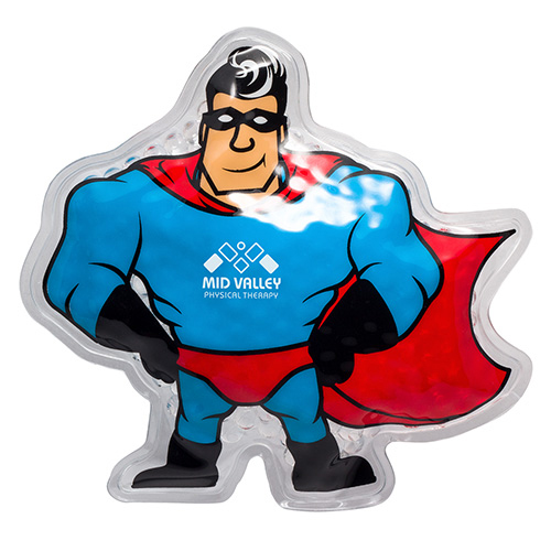 Promotional Super Hero Hot/Cold Pack