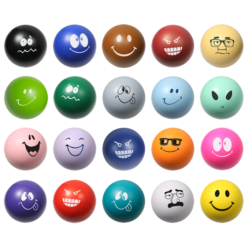 View Image 2 of Emoticon Stress Balls