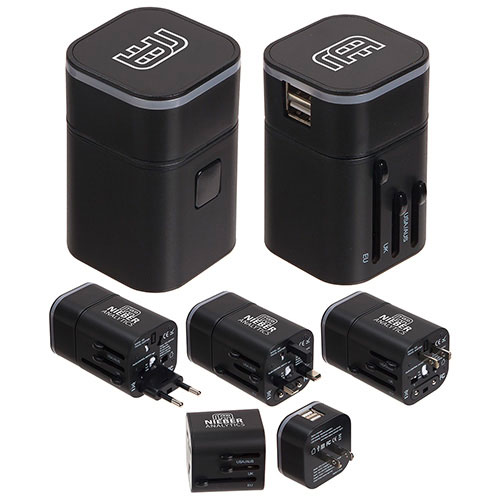 Promotional Gemini Travel Adapter