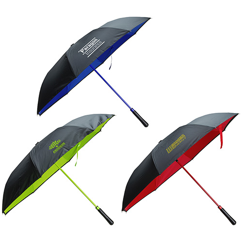 Promotional Skyline Two-Tone Inversion Umbrella