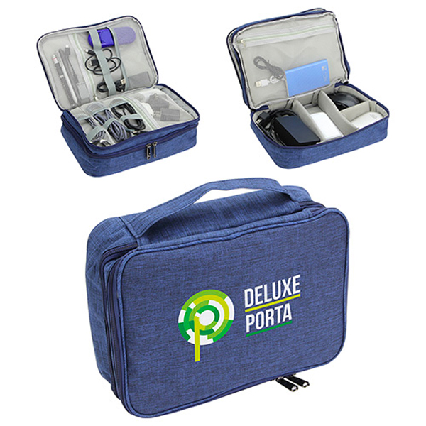 Promotional Deluxe Porta Power Digital Organizer