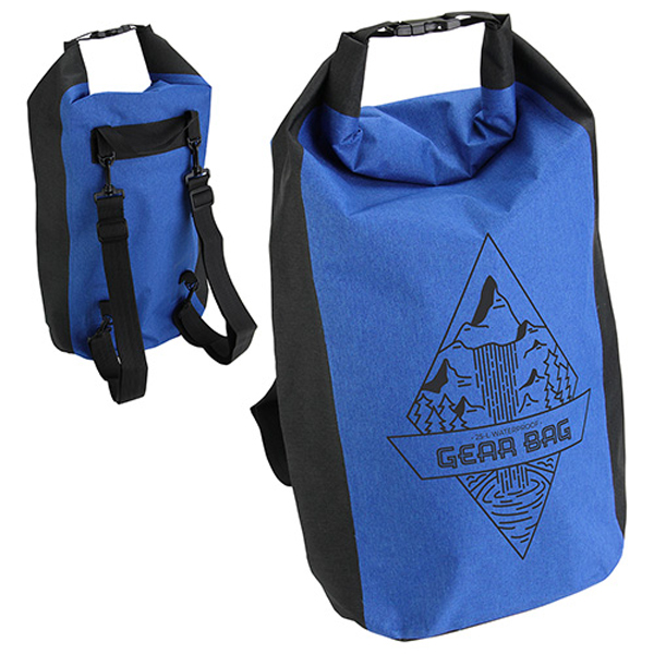 Promotional Polyester Waterproof Backpack-25 Liter