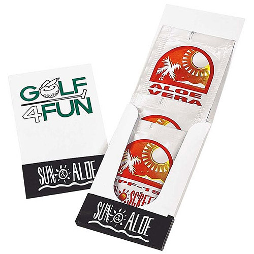 Promotional Sun & Aloe Pocket Pack
