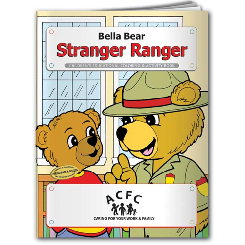 Promotional Bella Bear Stranger Ranger Coloring Book