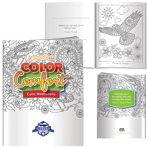 Promotional Adult Coloring Book - Shades of Relaxation (Animals)