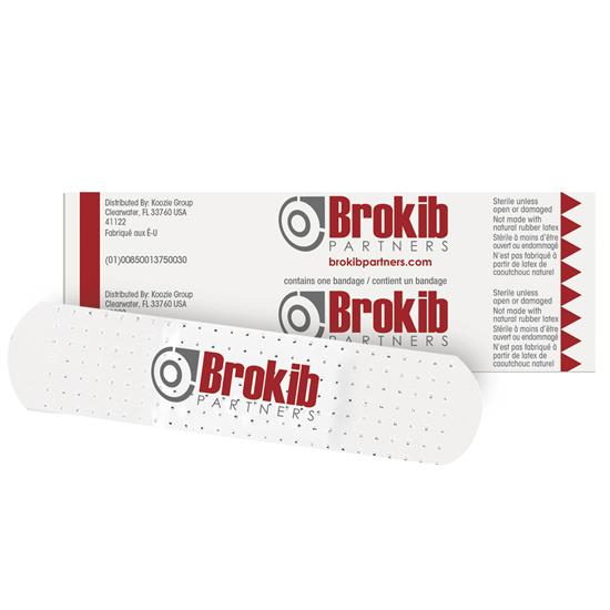 Custom Printed White Bandages- USA