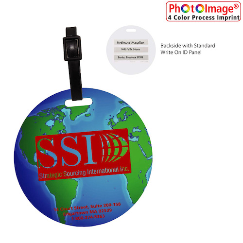 View Image 2 of Globe Luggage Tag