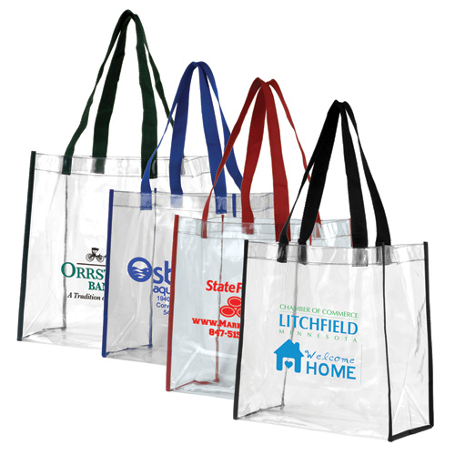 Promotional Clear Stadium Tote