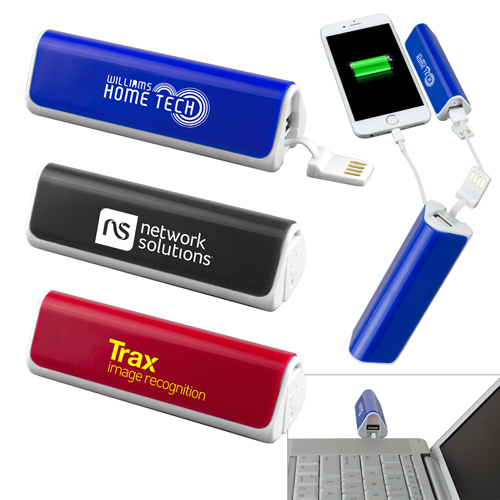 Promotional Portable Lithium Ion Power Bank Charger
