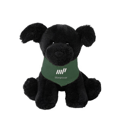 Promotional Gund® Puppies - Black