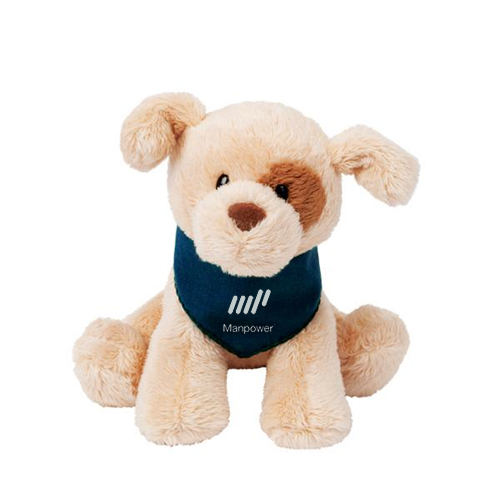 Promotional Gund® Puppies - Tan