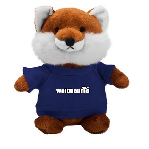 Promotional Fox Bean Bag Buddies