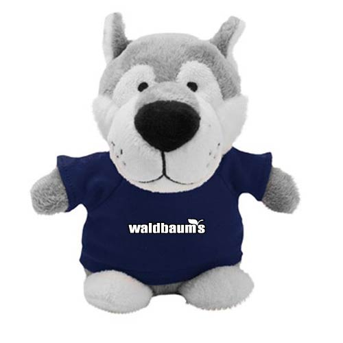 Promotional Wolf Bean Bag Buddies