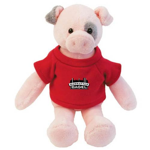 Promotional Pig Mascot Stuffed Animal