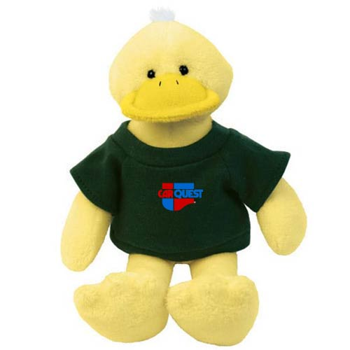 Promotional Duck Mascot Stuffed Animal