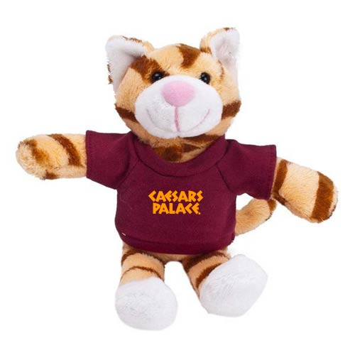 Promotional Cat Mascot Stuffed Animal