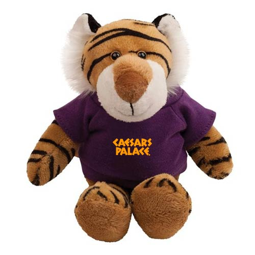 Promotional Tiger Mascot Stuffed Animal