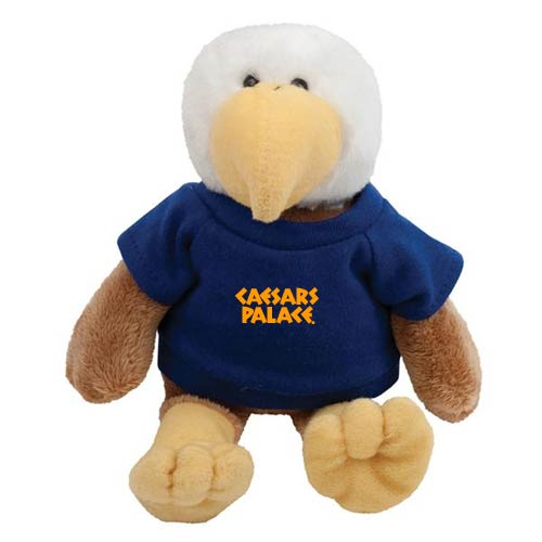 Promotional Eagle Mascot Stuffed Animal