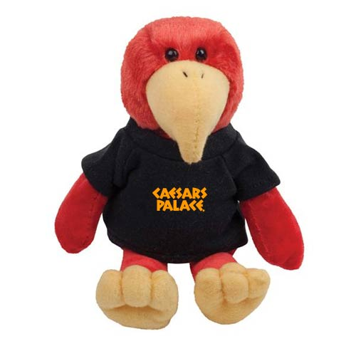 Promotional Cardinal Mascot Stuffed Animal